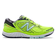 NB New Balance 860v7, Lime Glo with Dark Denim