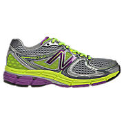New Balance 860v3, Silver with Purple & Yellow