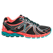 New Balance 870v3, Black with Orange