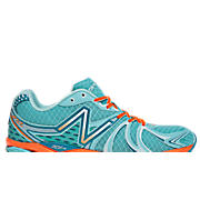 New Balance 870v2, Blue Grotto with Orange