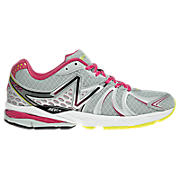 New Balance 870v2, White with Pink
