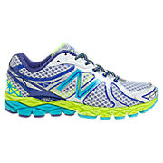 New Balance 870v3, Silver with Bluebird & Neon Green