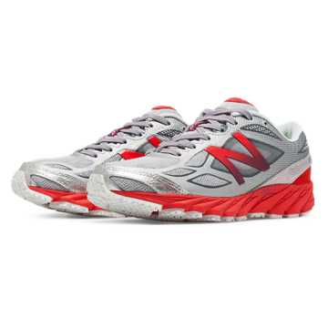 New Balance New Balance 870v4, White with Cerise