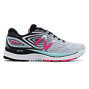New Balance 880v7, Light Blue with Black & Pink