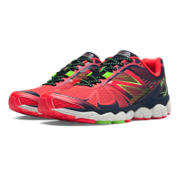 New Balance 880v4, Bright Cherry with Black & Green Apple