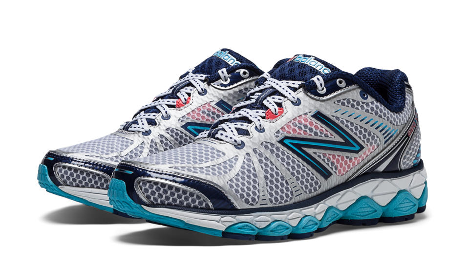 New Balance 880v3, Grey Marle with Blue & Blue Atoll