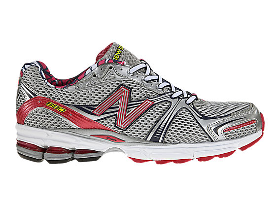 New Balance 880, Silver with Pink & Navy