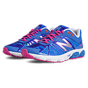 Limited Edition 890v4, Blue with Exuberant Pink & Silver