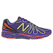 Womens Limited Edition Boston 890v3, Purple with Black & Poppy Red