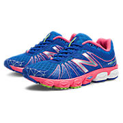 New Balance 890v4, Blue with Pink