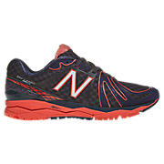 New Balance 890v2, Black with Orange