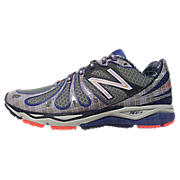 Womens London 890v3, Grey with Blue & Purple
