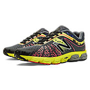 Womens Limited Edition NYC 890v4, Black with Ruby & Yellow