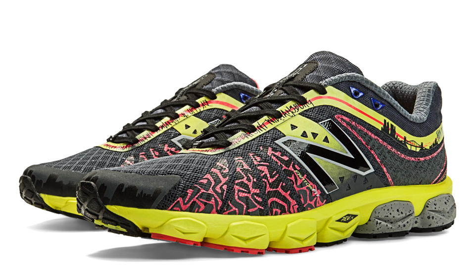 Limited Edition NYC 890v4, Black with Ruby & Yellow
