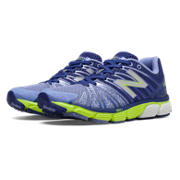 New Balance 890v5, Spectrum Blue with Lime