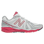 New Balance 890v2, White with Silver & Berry