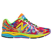 Womens Tie Dye 890V3, Yellow with Red & Blue