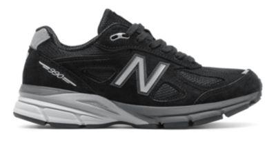 Image of New Balance 990v4 Women's Made in US Collection Shoes | W990BK4