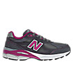 New Balance 990v3, Grey with Pink & White