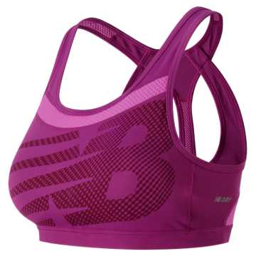 New Balance NB Pulse Bra, Jewel with Fusion