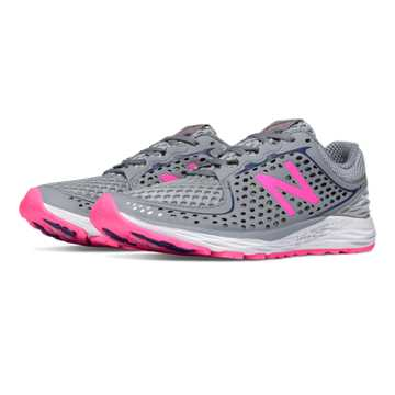 New Balance Vazee Breathe, Silver Mink with Steel & Toxic
