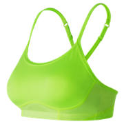 New Balance NB Hero Bra, Lime Glo