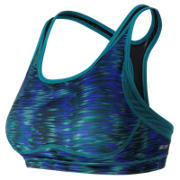 NB The Print Shapely Shaper Bra, Galaxy with Castaway & Black