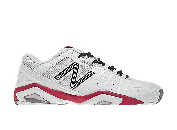 New Balance 1187, White with Pink