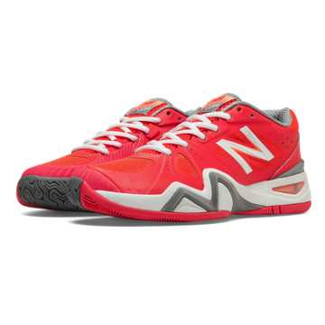New Balance New Balance 1296, Coral Pink with White & Grey