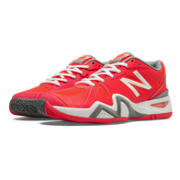New Balance 1296, Coral Pink with White & Grey