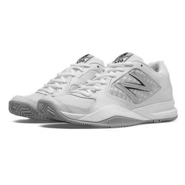 New Balance New Balance 696v2, White with Silver