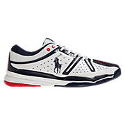 New Balance 851, White with Navy & Red