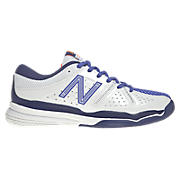New Balance 851, White with Purple & Navy