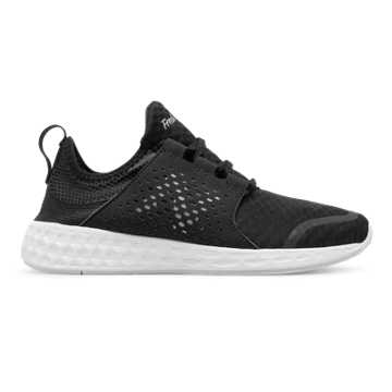 New Balance Fresh Foam Cruz, Black with White