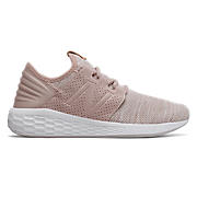 Fresh Foam Cruz v2 Knit, Pink Mist with White