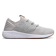 Fresh Foam Cruz v2 Knit, Rain Cloud with White