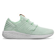 Fresh Foam Cruz v2 Knit, Sea Glass with White