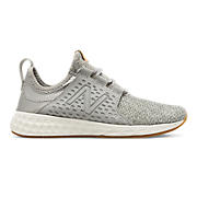 Women's Fresh Foam Cruz, Light Grey with Sea Salt