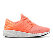Womens Fresh Foam Cruz v2 Sport , Fiji with White