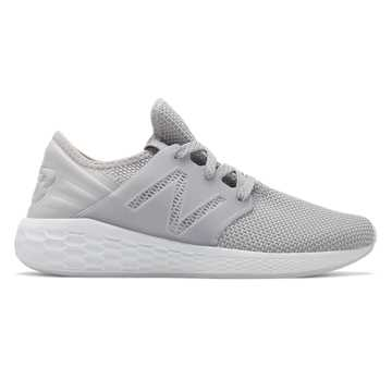 Womens Fresh Foam Cruz v2 Sport , Silver Mink