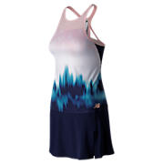 Brunton Dress, Blue with Pigment