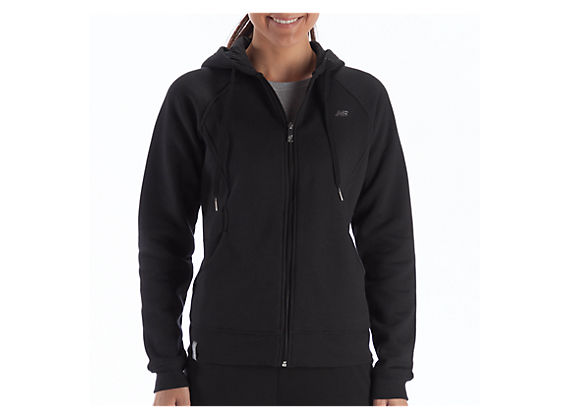 Essentials Full Zip Hoodie, Black
