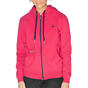 Essentials Full Zip Hoodie, Raspberry