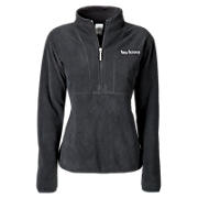 Micropolar Fleece 1/4 Zip Sweat, Black