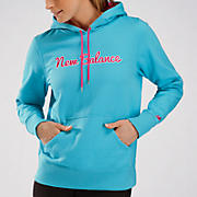 Essentials Pullover Hood, Blue Atoll