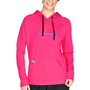 Essentials French Terry Hoodie, Raspberry