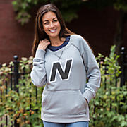 990 French Terry Pullover, Athletic Grey