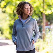 990 PolarTec Fleece Half Zip, Athletic Grey