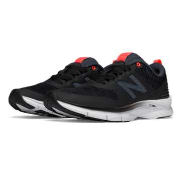 New Balance Exclusive 717 Trainer, Black with Grey