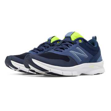 New Balance New Balance 717 Trainer, Navy with Hi-Lite